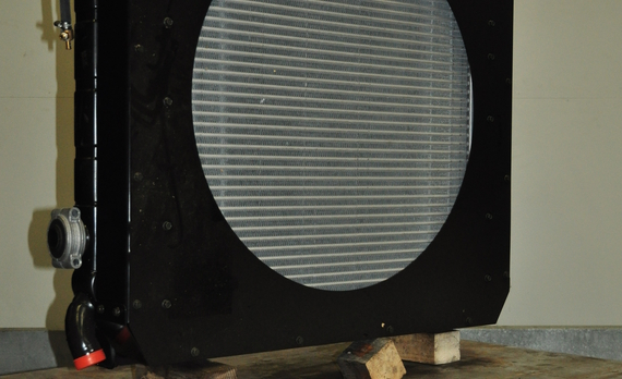 Scania, 6 cilinder radiateur en intercooler, K497