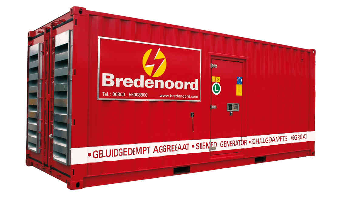 Stromerzeuger 800 kVA 20Ft Container