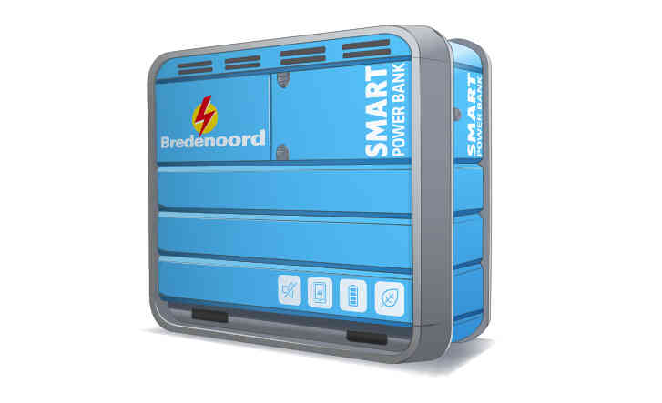 Bredenoord Card Smart Powerbank